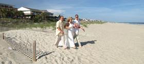 Beach Weddings NC Coast